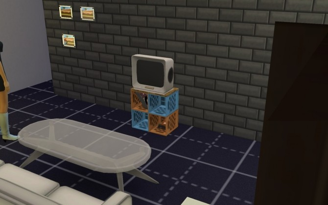 Sims 4 Here's the Telly ( ts3 conversion) by g1g2 at Mod The Sims