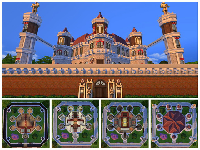 GoT Kings Landing (Approdo del Re) by Sim4fun at Sims Fans image 7012 Sims 4 Updates