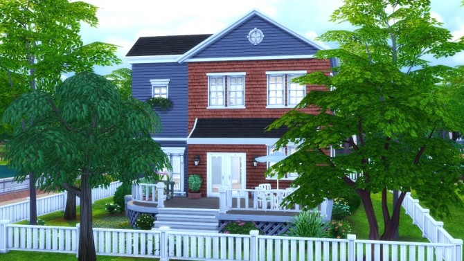 Sims 4 The Clifford (a.k.a. the Whalen house) at Jenba Sims