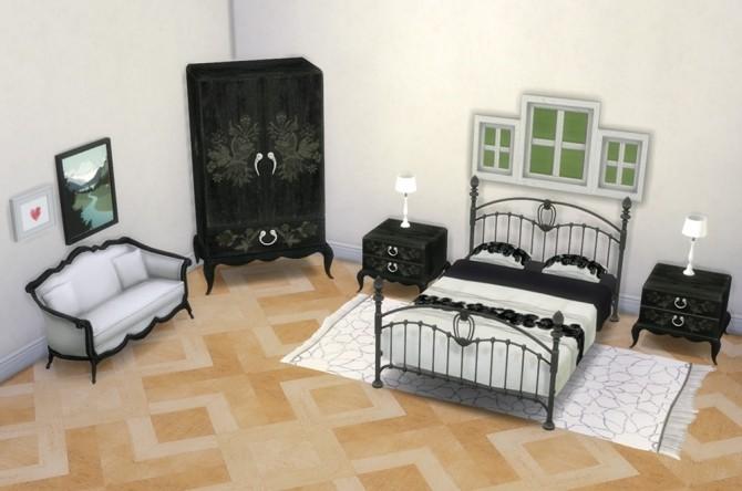 Sims 4 HolySimoly's La Boheme set conversion at Saudade Sims