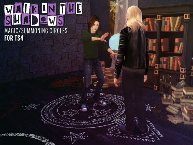 Magic Summoning Circles At The Path Of Nevermore 187 Sims 4