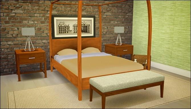 Brookline Dreams Bedroom at Femme Jean image 746 670x384 Sims 4 Updates