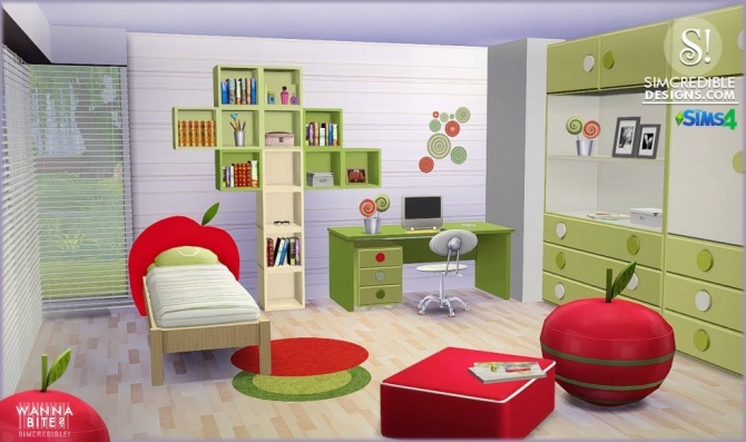 Sims 4 Toddler Bed