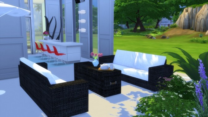 Garden Furnitures Set by Wallpaper at Mod The Sims image 7617 670x377 Sims 4 Updates