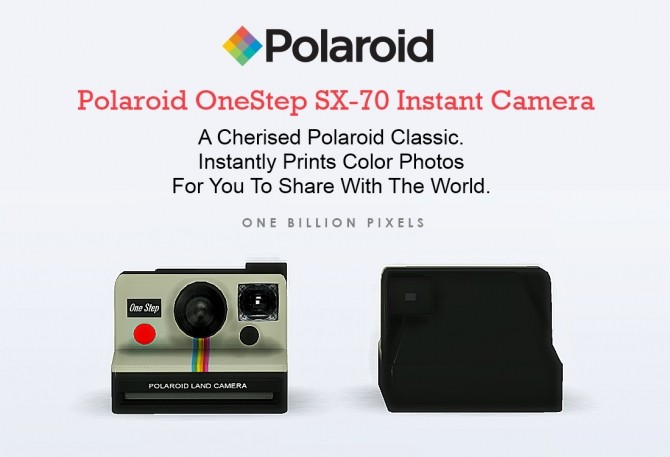 Functional Polaroid Cameras at One Billion Pixels image 768 670x457 Sims 4 Updates