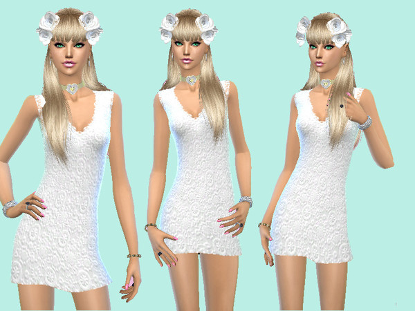 Spring Wedding Dress by Celeste25 at TSR image 77 Sims 4 Updates