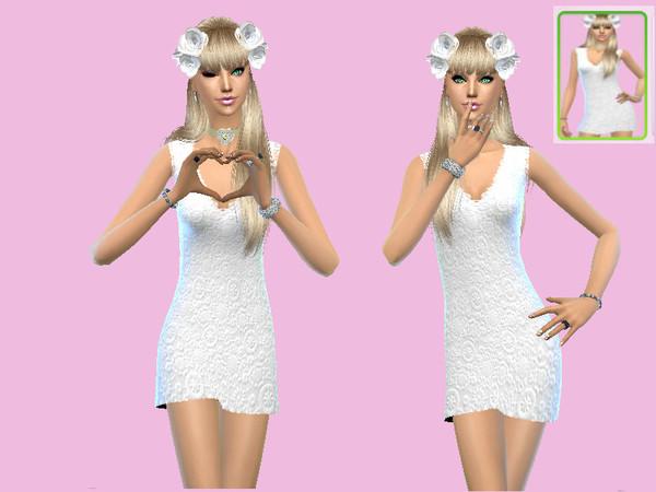 Spring Wedding Dress by Celeste25 at TSR image 78 Sims 4 Updates