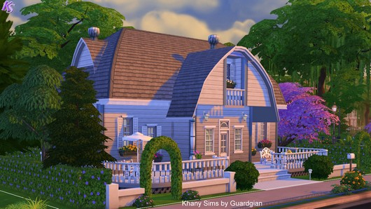 Caroline house by Guardgian at Khany Sims image 781 Sims 4 Updates