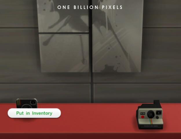 Functional Polaroid Cameras at One Billion Pixels image 787 Sims 4 Updates