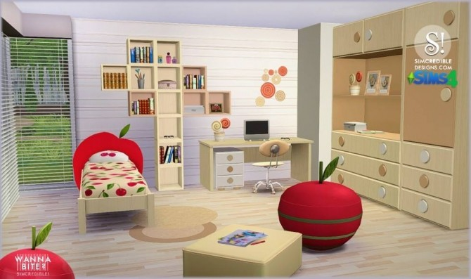 Wanna Bite? kids room at SIMcredible! Designs 4 image 79 670x397 Sims 4 Updates