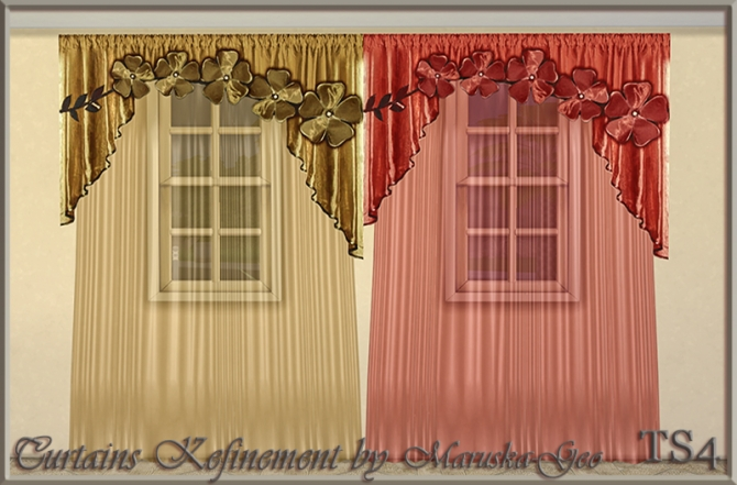 Shinokcr s curtains and canopy s - Curtains 187 Sims 4 Updates 187 Best Ts4 Cc Downloads 187 Page