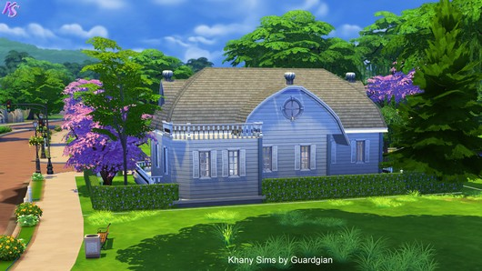 Caroline house by Guardgian at Khany Sims image 813 Sims 4 Updates