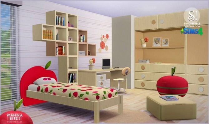 Wanna Bite? kids room at SIMcredible! Designs 4 image 821 670x397 Sims 4 Updates