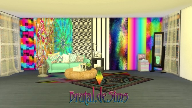 16 Misc. Walls at Brutal de Sims4 image 8219 670x377 Sims 4 Updates