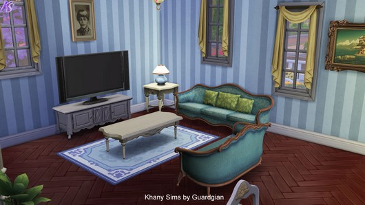 Caroline house by Guardgian at Khany Sims image 822 Sims 4 Updates