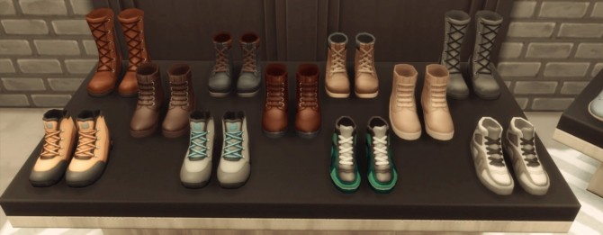 Shoes for sale part 2 at jsboutique sims 4 updates for Decor 2 sell