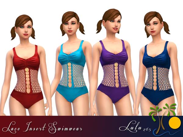Sims 4 Lace Swimwear by Lulu265 at TSR