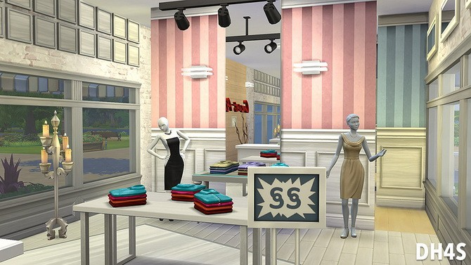 The Old Stones Mall By Samuel At Dh4s 187 Sims 4 Updates