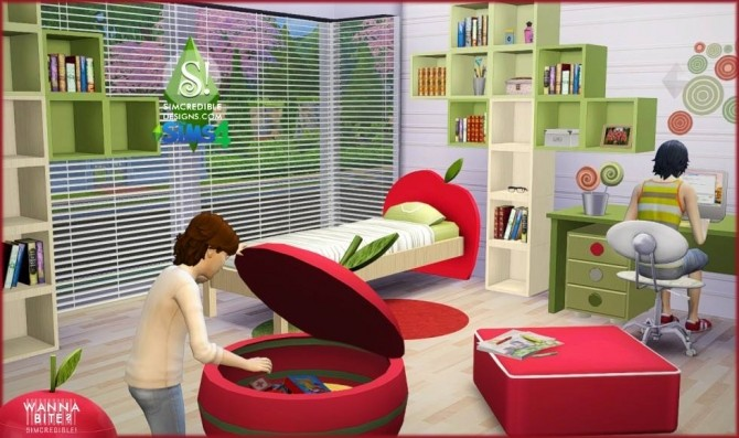 Wanna Bite? kids room at SIMcredible! Designs 4 image 831 670x397 Sims 4 Updates