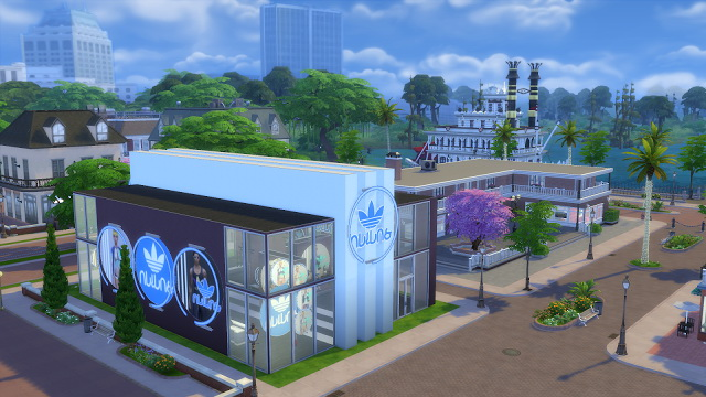 Simlish Athletic Store by jeancr874 at La Boutique de Jean image 8316 Sims 4 Updates