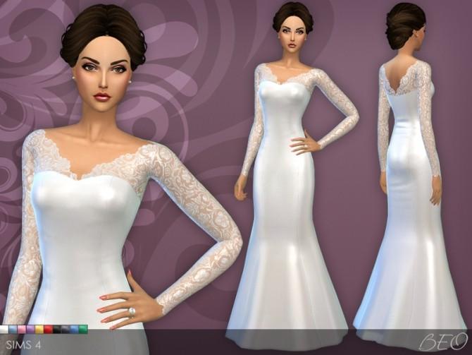 Wedding dress 25 v 3 at beo creations image 8319 670x503 sims 4