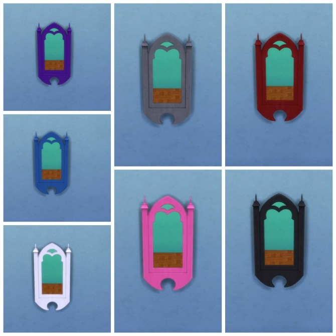 TS2 to TS4 11 Mirrors by Elias943 at Mod The Sims image 860 670x670 Sims 4 Updates