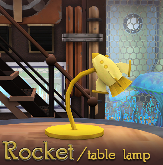 Rocket and UFO lamps + planets conversions at Soloriya image 866 Sims 4 Updates