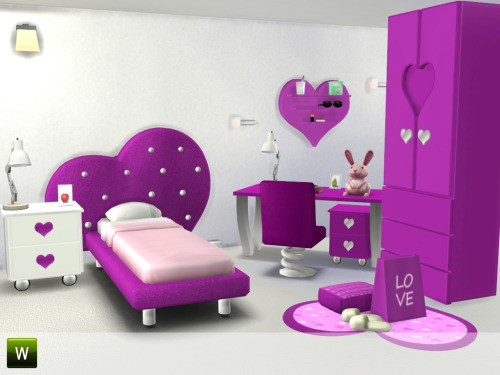 Sims 4 Femina room at Little Sims Stuff