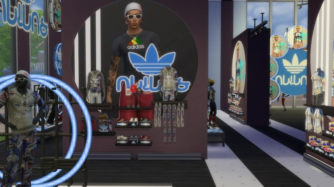 Simlish Athletic Store by jeancr874 at La Boutique de Jean image 8813 670x377 Sims 4 Updates