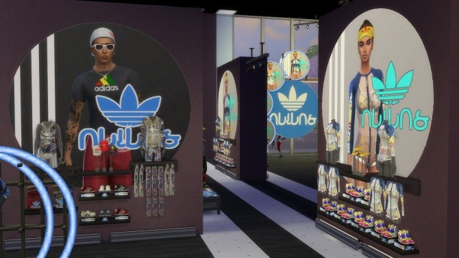 Simlish Athletic Store by jeancr874 at La Boutique de Jean image 8912 670x377 Sims 4 Updates