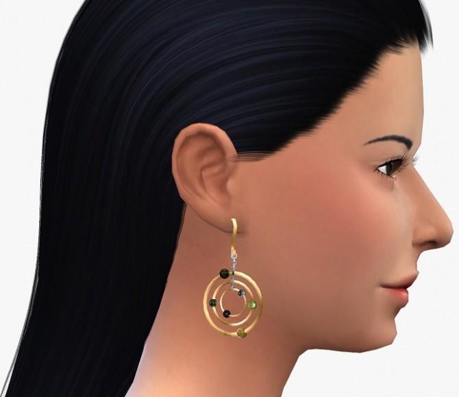 Sims 4 Earrings Set 9 at 19 Sims 4 Blog