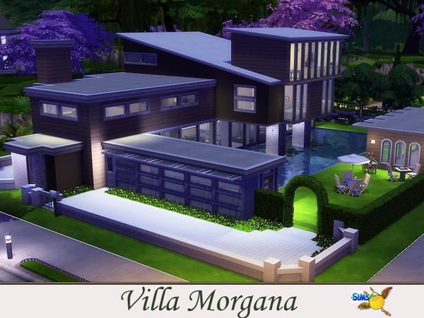 Sims 4 Villa Morgana by Evi at TSR