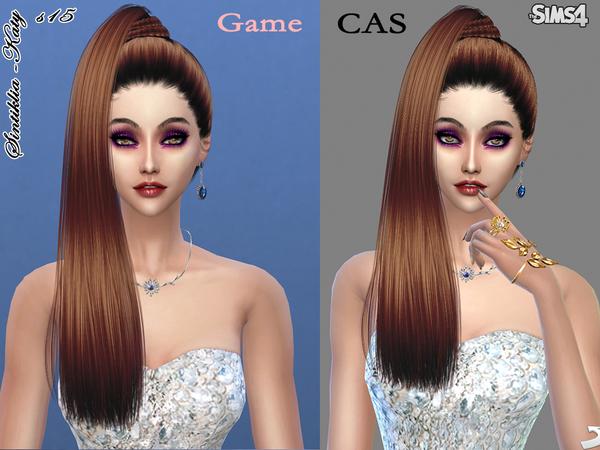 Sims 4 Hair s15 Katy by Sintiklia at TSR