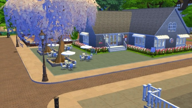 Sims 4 Tiers of Joy Bakery at Sanjana sims
