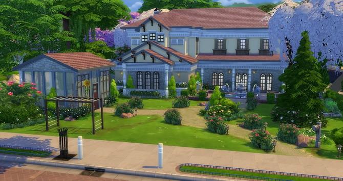 Tulipe house at Studio Sims Creation » Sims 4 Updates