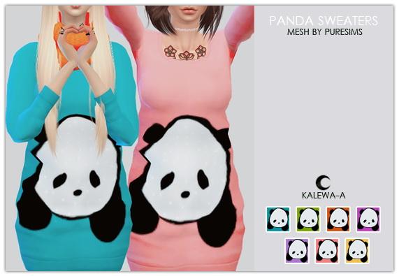 Panda Sweaters at Kalewa a image 9421 Sims 4 Updates