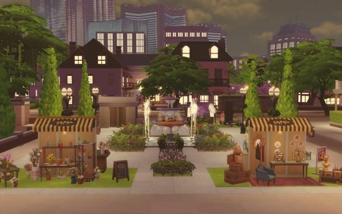 Sims 4 Artisan Fair at Via Sims