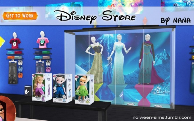 Disney Store by NANA at Nolween image 9618 670x419 Sims 4 Updates