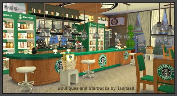 Boutiques and Starbucks at Tanitas8 Sims image 963 670x363 Sims 4 Updates