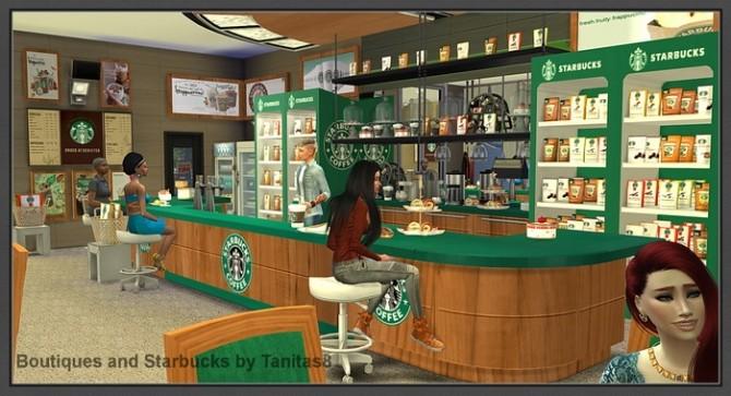 Boutiques and Starbucks at Tanitas8 Sims image 973 670x363 Sims 4 Updates