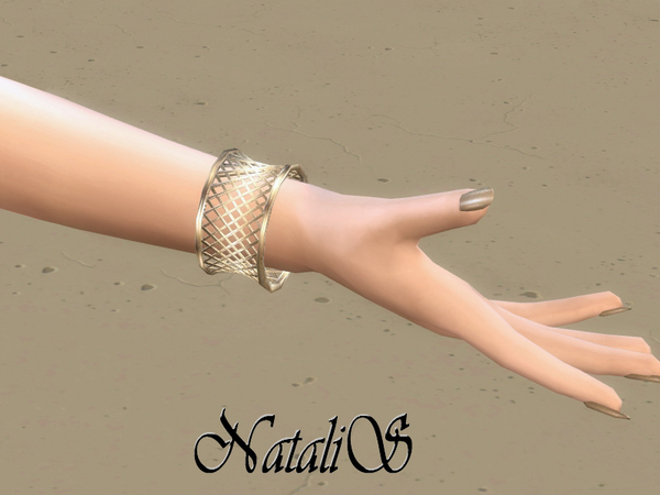 Sims 4 Cage bracelet by NataliS at TSR