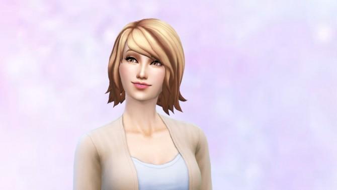 Sims 4 Bob Shaggy Ombre hair by Czarina27 at Mod The Sims