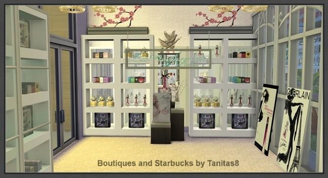 Boutiques and Starbucks at Tanitas8 Sims image 983 670x363 Sims 4 Updates