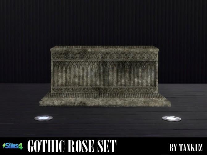 Sims 4 Gothic Rose Set at Tankuz Sims4