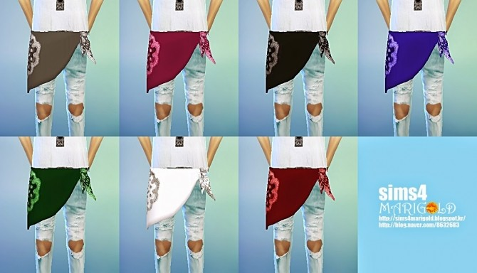Pants scarf acc at Marigold image 9919 670x384 Sims 4 Updates