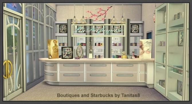 Boutiques and Starbucks at Tanitas8 Sims image 993 670x363 Sims 4 Updates
