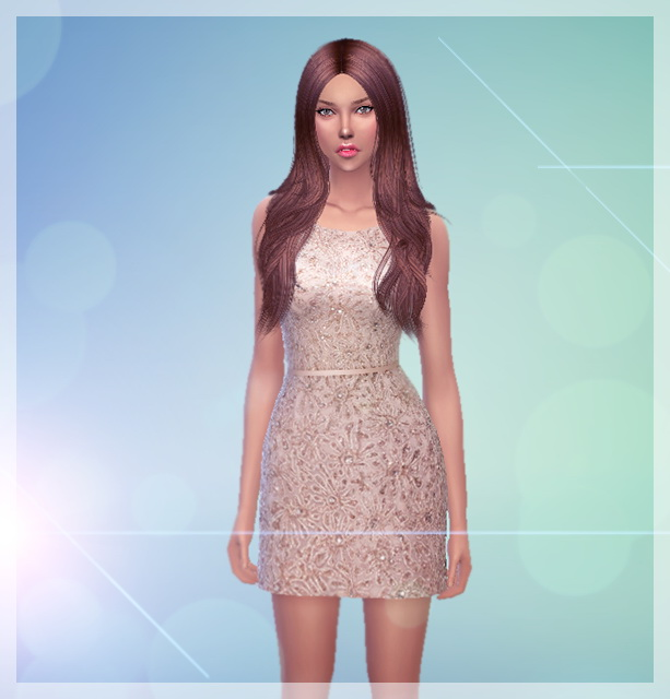 Sims 4 Rebecca by Melinda at Sims Fans