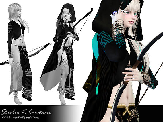 Sims 4 Zelda   Midna Concept outfit at Studio K Creation