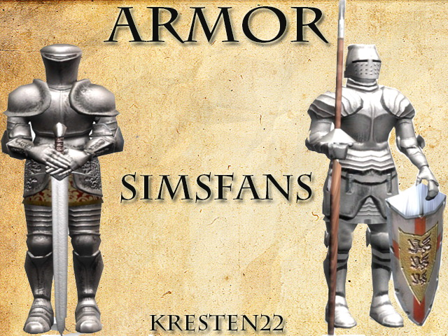 Armor 2T4 conversion by Kresten 22 at Sims Fans image 1059 Sims 4 Updates