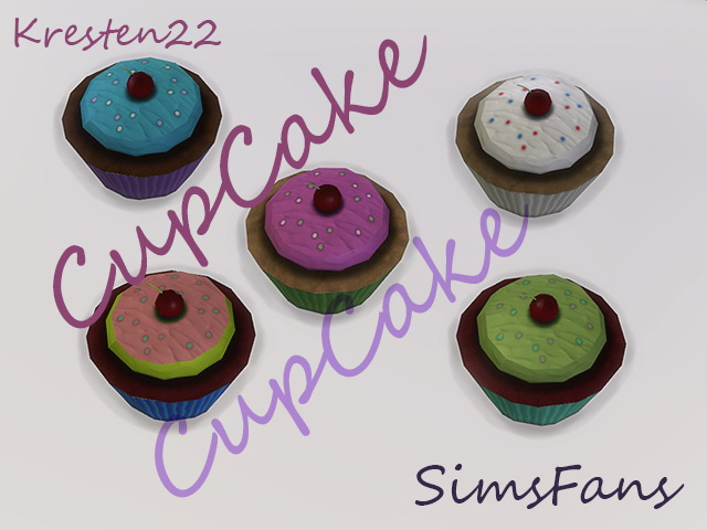Sims 4 Cup Cake by Kresten 22 at Sims Fans